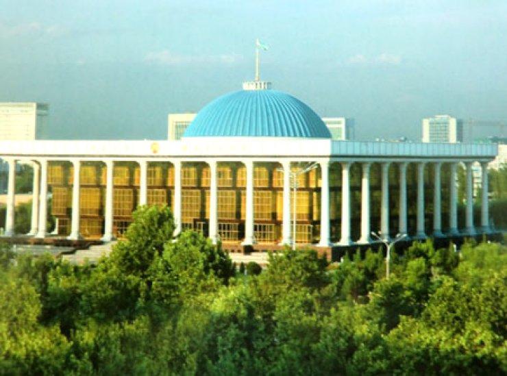 Legislative chamber of the Oliy Majlis, a lower chamber of Parliament / Courtesy of Uzbek Embassy