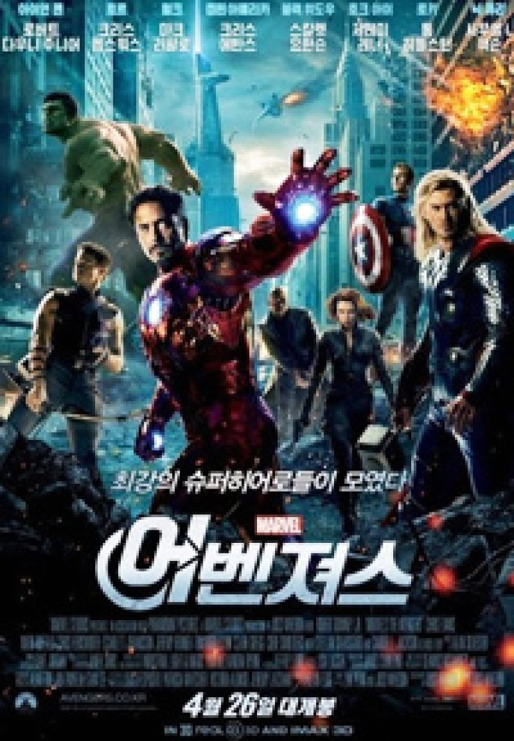 Poster for 'The Avengers'