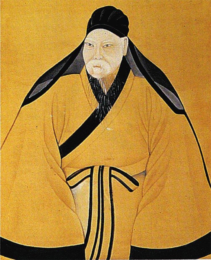 A portrait of 18th-century scholar Park Ji-won