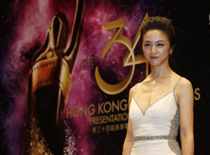 Tang Wei in HK Film Awards