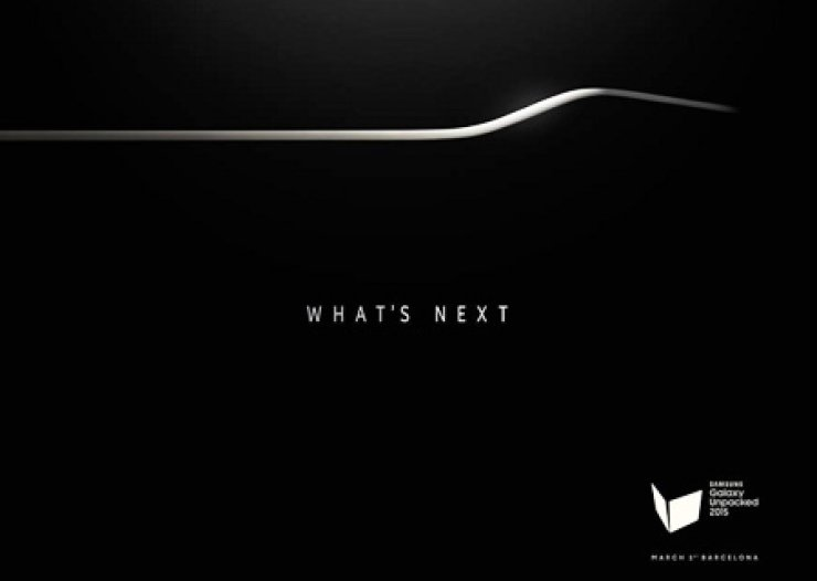 An invitation card issued to the press Tuesday by Samsung Electronics for the Galaxy Unpacked 2015 event. It is expected to release its latest Galaxy S6 model on March 1, a day before the opening of the Mobile World Congress in Barcelona, Spain. / Courtesy of Samsung Electronics