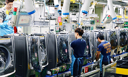 LG vows washing machine leadership