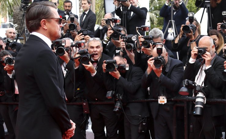 Actor Leonardo DiCaprio poses for photographers upon arrival at the premiere of the film 'Oh Mercy' at the 72nd international film festival, Cannes, southern France, Wednesday, May 22, 2019. Reuters