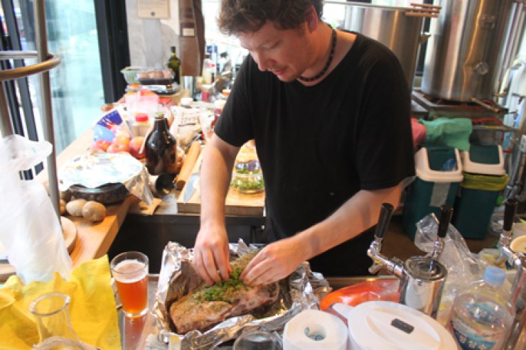 Joe McPherson is now an influential figure in Korea's food and restaurant scene, thanks to the success of his blog, ZenKimchi. / Courtesy of ZenKimchi