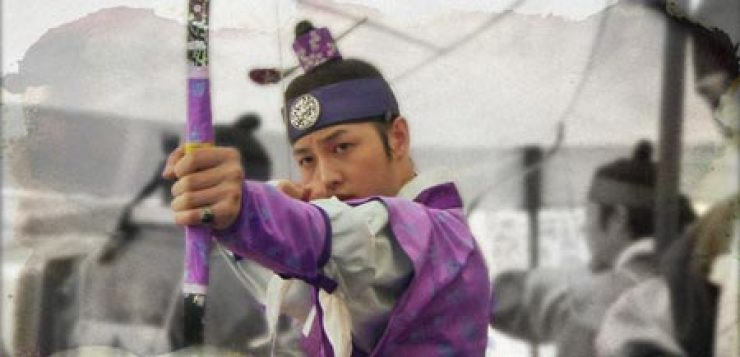 Archery scenes are common in TV dramas set in the Joseon Kingdom, such as the 2010 KBS'Sungkyunkwan Scandal.' / Korea Times file