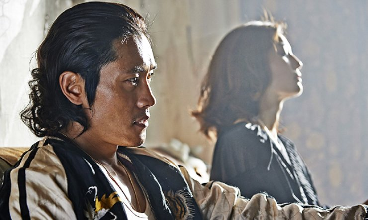 Lee Byung-hun in a scene from