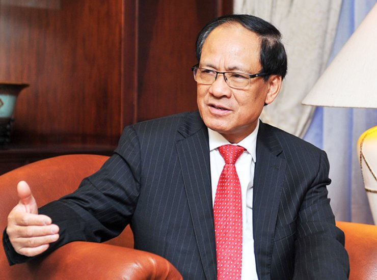 ASEAN Secretary General Le Luong Minh speaks during a recent interview at its headquarters in Jakarta./ Courtesy of ASEAN Secretariat