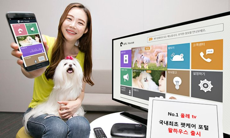 KT launches new IPTV service for pets