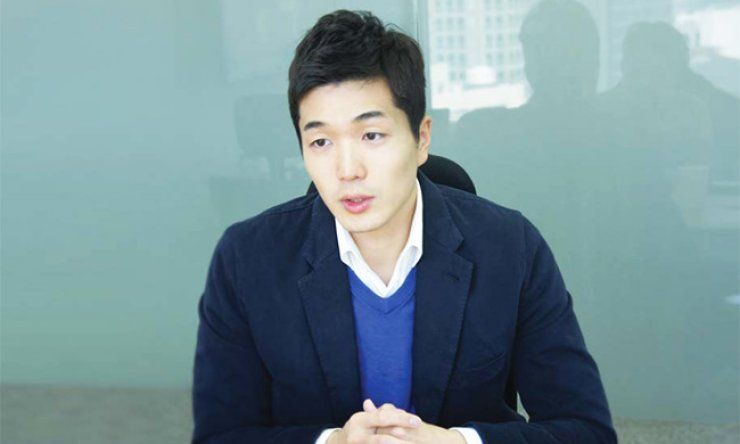 LENDIT CEO Kim Sung-joon speaks about the potential of financial technology, or fintech, in Korea, in an interview at the company's headquarters in central Seoul, on Oct. 21. / Courtesy of LENDIT