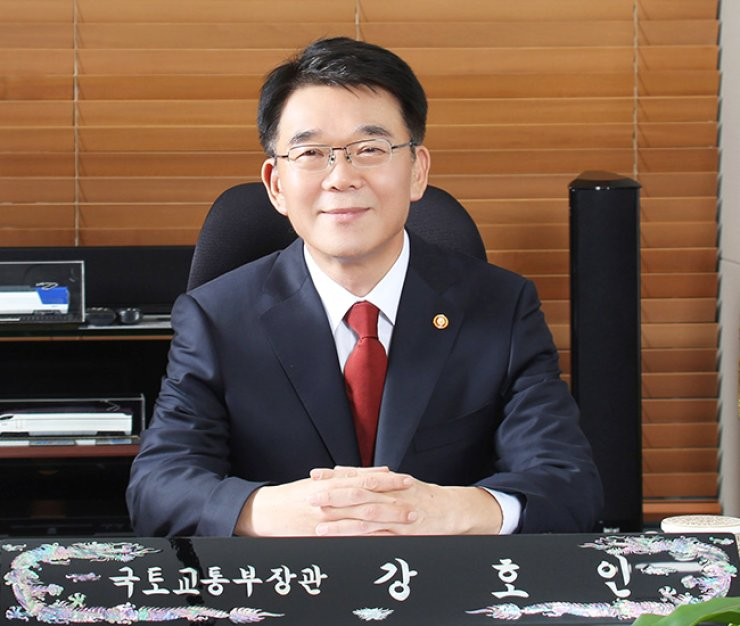 Land, Infrastructure, and Transport Minister Kang Ho-in.