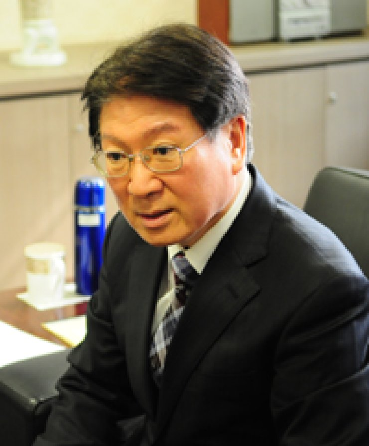 Lim Kwang-soo, president of Korea Institute of Marine Science and Technology Promotion