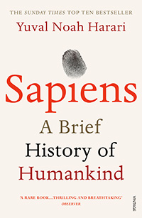 Israeli historian Yuval Noah Harari and his book 'Sapiens: A Brief History of Humankind'