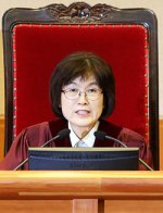 Lee Jung-mi, justice and acting president of the Constitutional Court
