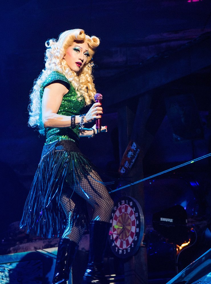 Michael K. Lee as Hedwig in the musical 'Hedwig and the Angry Inch' / Courtesy of Shownote
