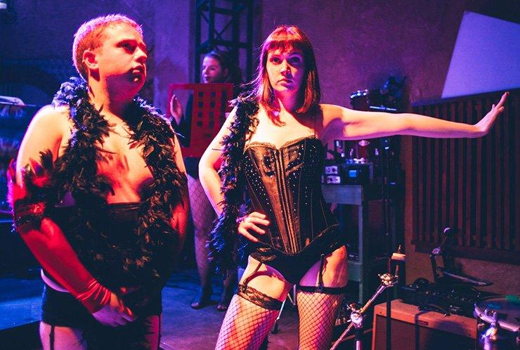 Actors perform at last year's Rocky Horror Shadowcast. / Courtesy of Robert Evans