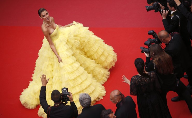 72nd Cannes Film Festival - Screening of the film 'Roubaix, une lumiere' (Oh Mercy!) in competition - Red Carpet Arrivals - Cannes, France, May 22, 2019. Fernanda Liz poses. Reuters
