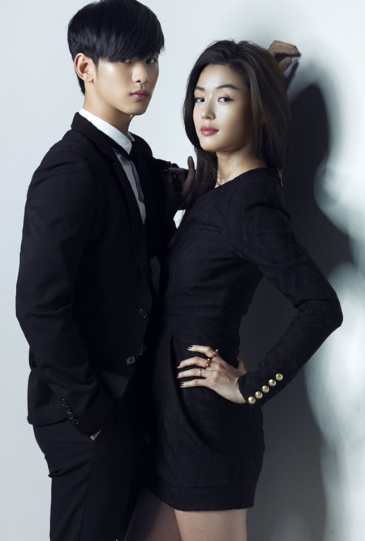 Hallyu 1.0: Actress Jun Ji-hyun, right, and actor Kim Soo-hyun starred in 'My Love From the Star,' an SBS drama about an alien who landed on Earth during the Joseon Dynasty and falls in love with an actress 400 years later. The word 'hallyu' was coined by Beijing journalists in the mid-1999s. Hallyu began with Korean dramas like 'Winter Sonata,' 'Daejanggeum' and'Stairway to Heaven,' and gave birth to hallyu stars like Choi Ji-woo, Lee Young-ae and Bae Yong-joon