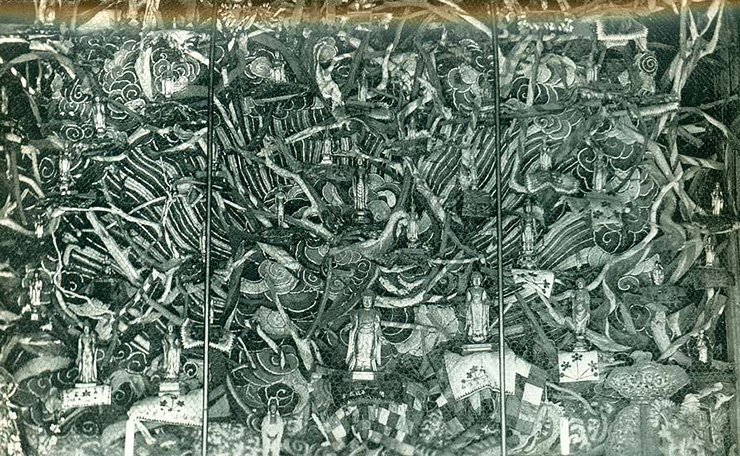 An image of the 53 Buddhas, circa 1892 / Courtesy of Brother Anthony, An Sonjae