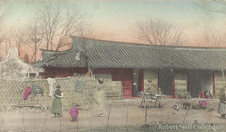 Shanghai, circa 1900.