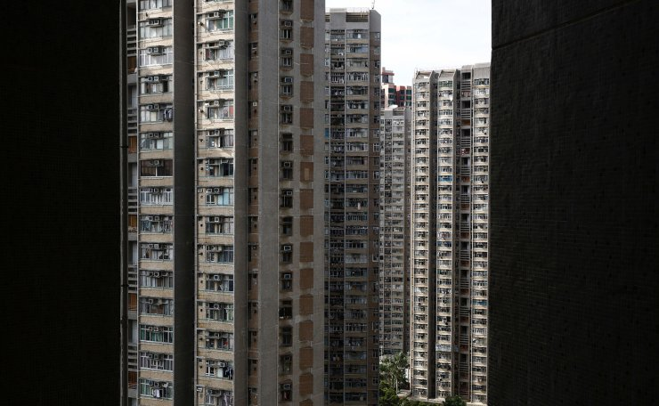 A general view shows residential apartment blocks in Hong Kong, China, June 27, 2019. Reuters