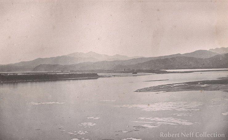 The frozen Han River, circa 1883-84.  Robert Neff collection