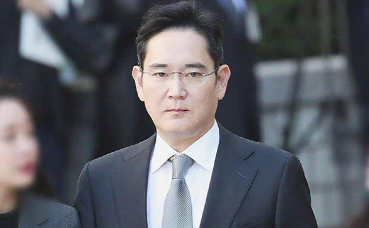Samsung Group heir Jay Y. Lee