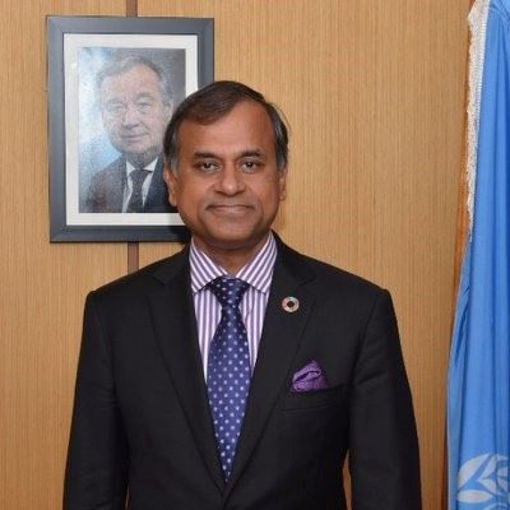 Siddharth Chatterjee, United Nations Resident Coordinator and UNDP Resident Representative to Kenya