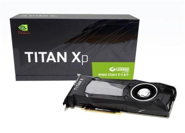 NVIDIA TITAN Xp graphics card