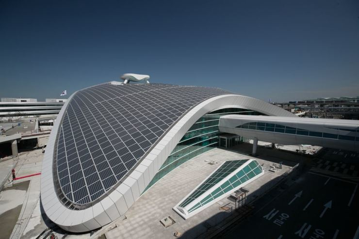 Incheon International Airport's second terminal underwent a dry-run of its overall operation on Sep. 14. / Korea Times file