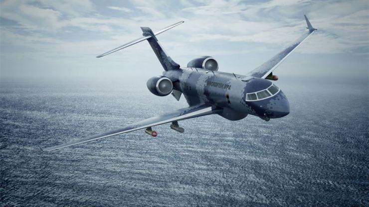 Saab's Swordfish anti-submarine patrol aircraft / Saab