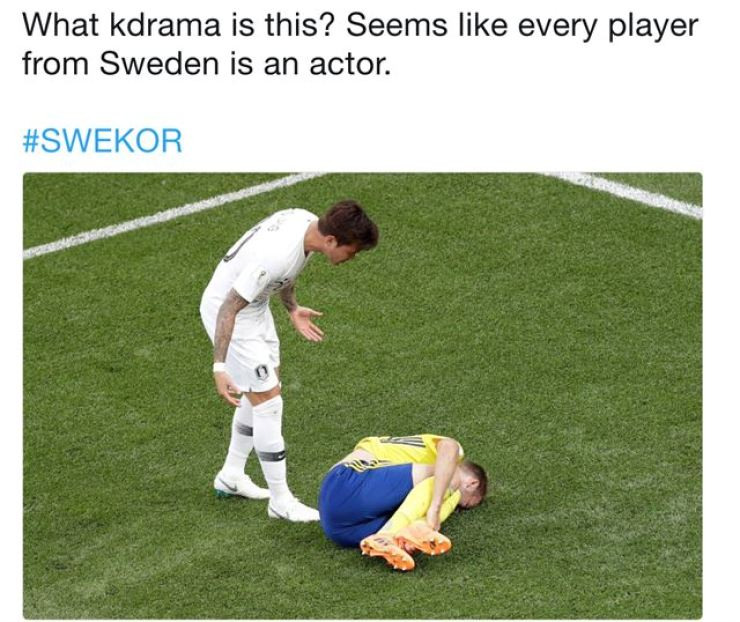 Koreans joke about their team's World Cup loss to Sweden