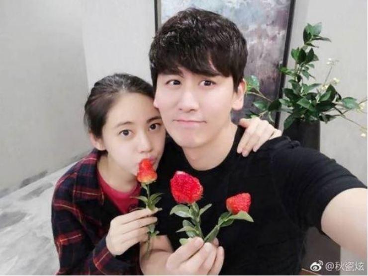 Choo Ja-hyun and Yu Xiaoguang. Captured from Yu Xiaoguang's Instagram