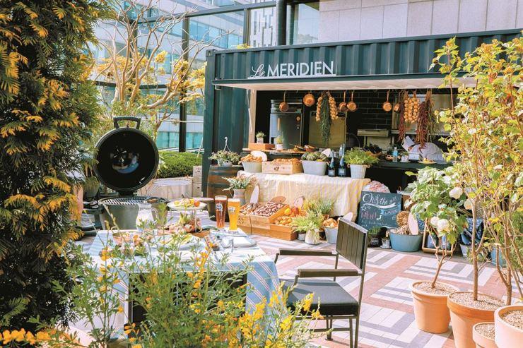 Chef the Grill offers an opportunity to experience the deep aromas and flavors of Europe. / Courtesy of Le Meridien Seoul