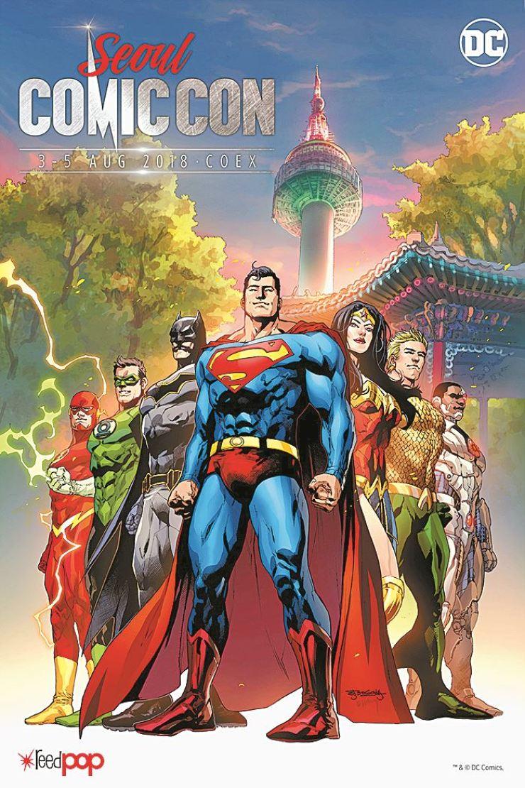 Poster for Comic Con Seoul 2018 / Courtesy of Comic Con Seoul