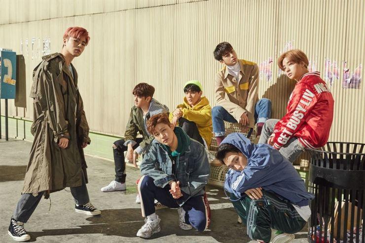 Members of iKON. Korea Times file