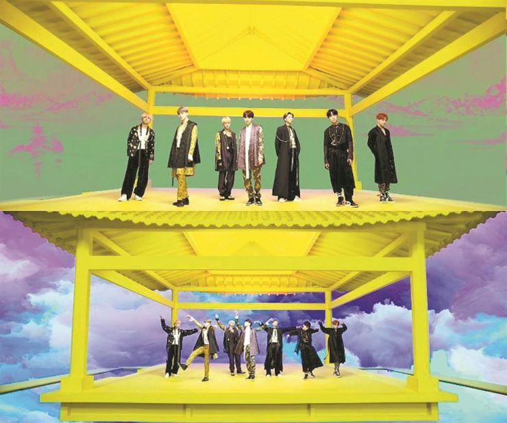 A teaser video for BTS' new album