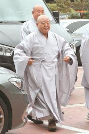 Jogye Order's new president Ven. Wonhaeng / Yonhap