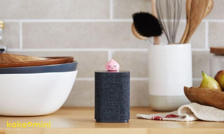 Kakao's AI speaker Kakao Mini / Courtesy of Kakao