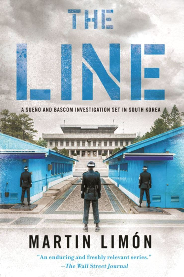 The cover of Martin Limon's latest book, 'The Line,' released this week