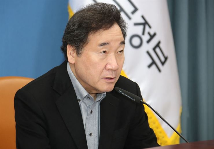 Prime Minister Lee Nak-yon speaks during a weekly government policy coordination meeting at Seoul Government Complex in Jongno-gu, Thursday. Yonhap