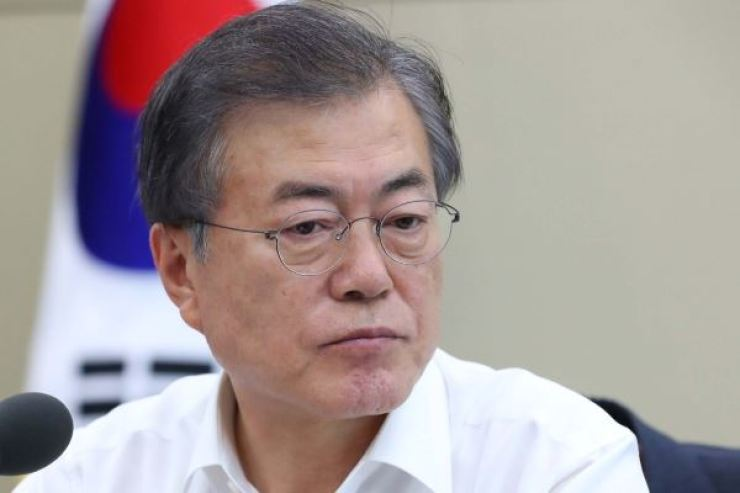 President Moon Jae-in Korea Times file