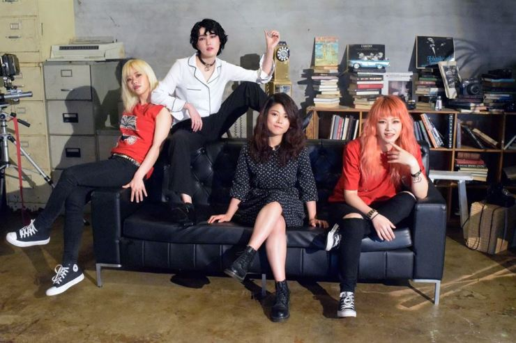 The pop-rock band Walking After U is touring across Korea, appearing in Gangneung on Friday, Daegu Saturday and Mokpo Christmas Eve. / Courtesy of Walking After U