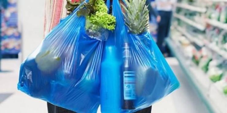 The ban will come into effect on Tuesday as part of a revised law on conserving resources and encouraging the reuse of recyclable waste.