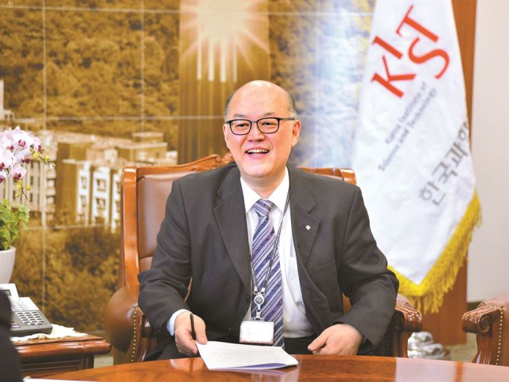 Lee Byung-gwon, president of the Korea Institute of Science and Technology (KIST). Courtesy of KIST
