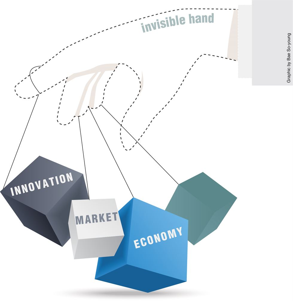 Let 'invisible hand' rule markets