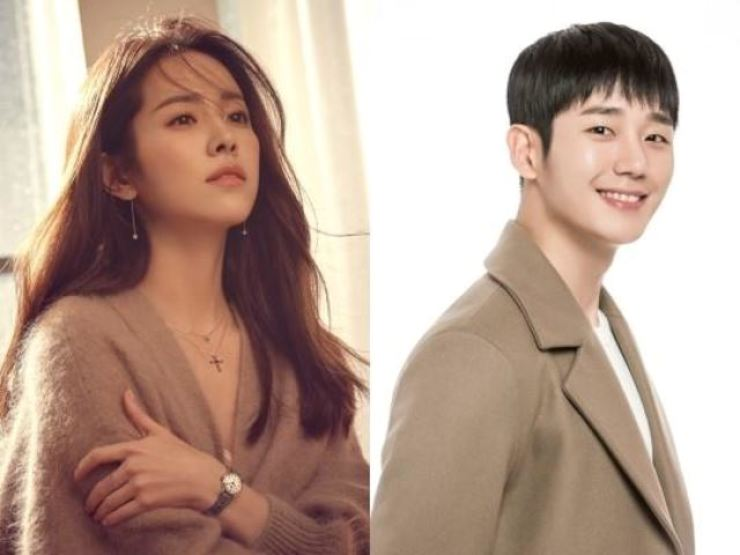 Han Ji-min and Jung Hae-in will co-star in an MBC drama. Courtesy of BH Entertainment, FNC Entertainment