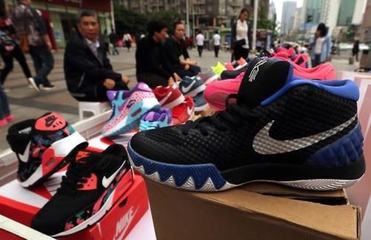 670284d0d4a Chinese man jailed for selling thousands of fake Nike sneakers