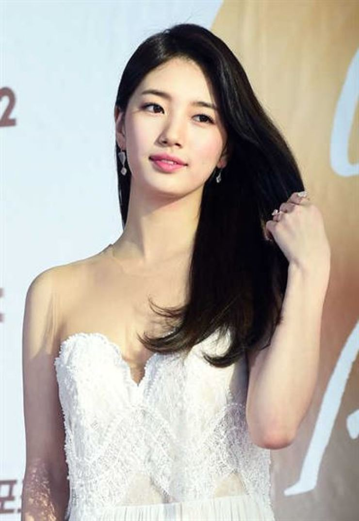 Singer-actress Suzy will leave JYP Entertainment. Korea Times file