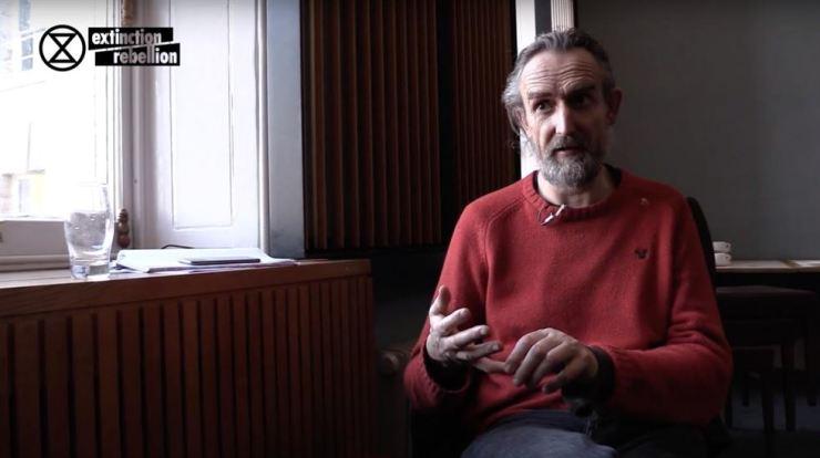 Extinction Rebellion founder Roger Hallam