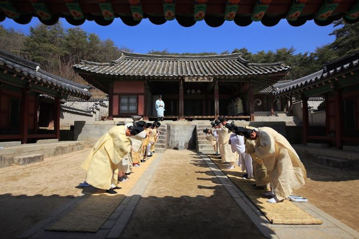 Dosan Seowon in Andong, North Gyeongsang Province is recommended for UNESCO World Heritage List by the International Council on Monuments and Sites (ICOMOS). Courtesy of Cultural Heritage Administration